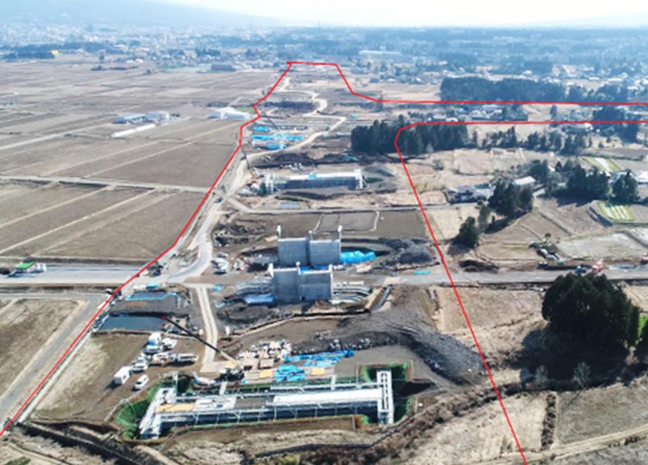 新東名高速道路 御殿場インターチェンジ工事