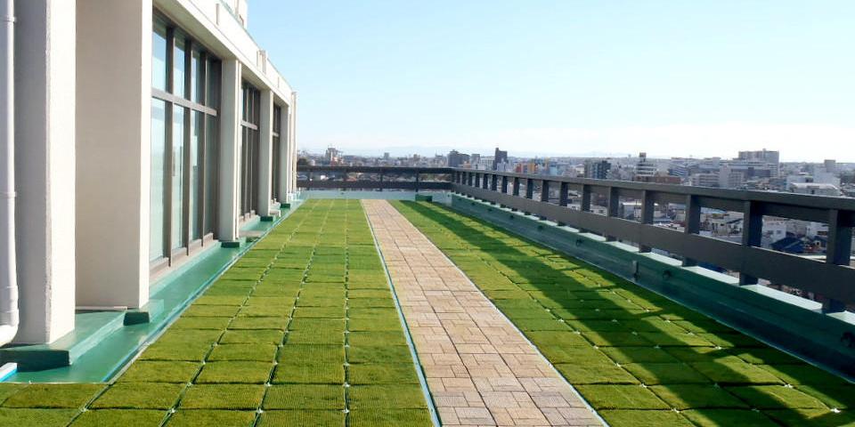 屋上緑化 | 環境保全 | 技術一覧...